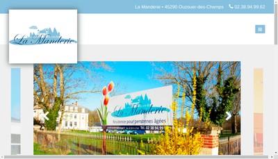 Site internet de Chateau de la Manderie