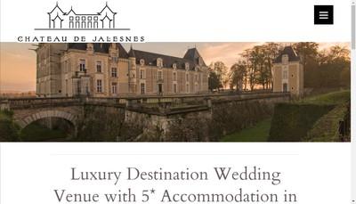 Site internet de Chateau de Jalesnes