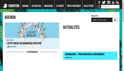 Site internet de Le Chatodo