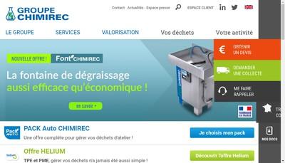Site internet de Chimirec-Valrecoise
