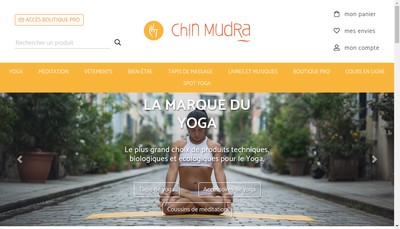 Site internet de Chin Mudra