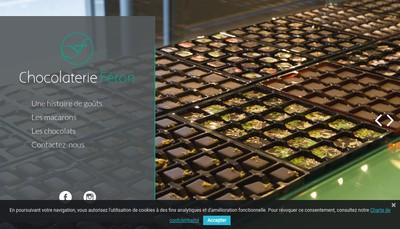 Site internet de Jean Francois Feron Chocolatier