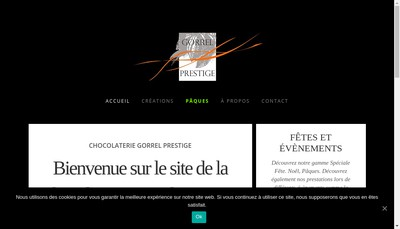 Site internet de Gorrel Prestige