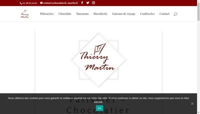 Site internet de Thierry Martin