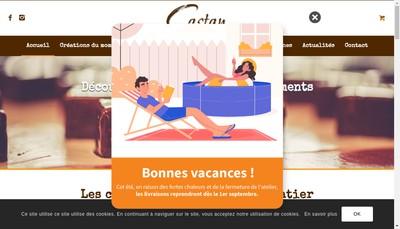 Site internet de Castan Chocolatier