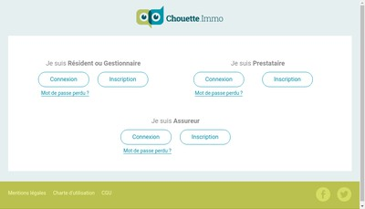 Site internet de Chouetteimmo