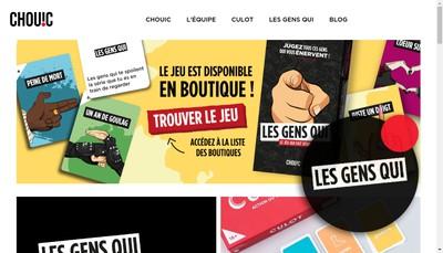 Site internet de Chouic