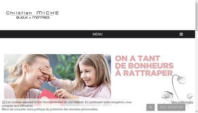 Site internet de Societe d'Exploitation des Etablissements Christian Miche