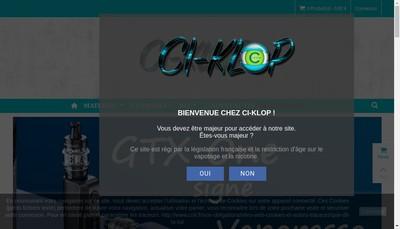 Site internet de Ci-Klop