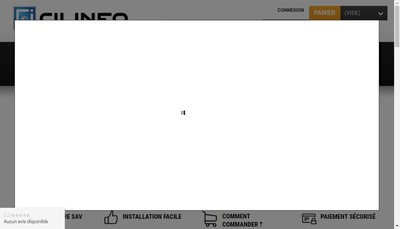 Site internet de Cilinfo