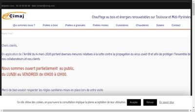 Site internet de Cimaj