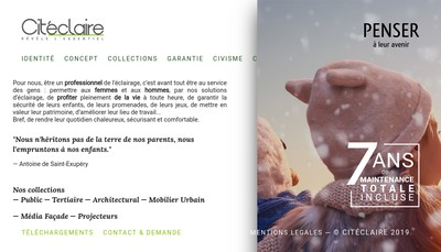 Site internet de Citeclaire