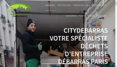 Site internet de City Debarras