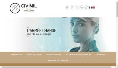 Site internet de Civimil