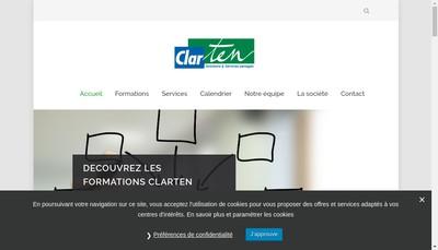Site internet de Clarten