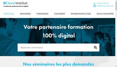 Site internet de Clever Institut