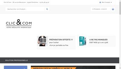 Site internet de Clic & Com-Safary-Abracadaclic-Boomerang