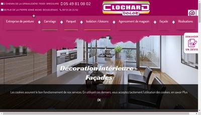 Site internet de Clochard Dolor