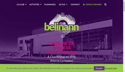Site internet de Club Belinann
