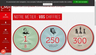 Site internet de Cmh Conseil