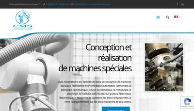 Site internet de Cms Automatisme