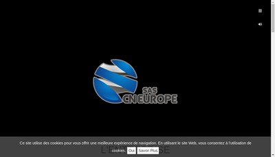 Site internet de CN Europe