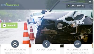 Site internet de Cnc Assurance