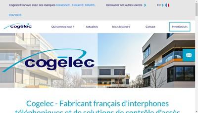 Site internet de Cogelec