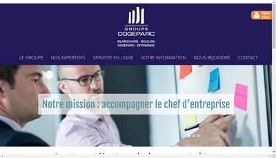 Site internet de Cogeparc