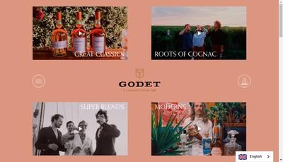 Site internet de Cognacs Godet