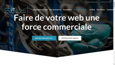 Site internet de Cojt Conseil Cojt Marketing Cojt Marketing Cojt E Commerce