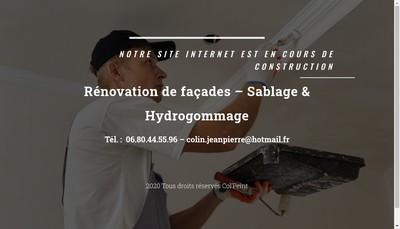 Site internet de Col'Peint
