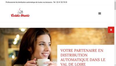 Site internet de Coldis Matic