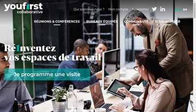 Site internet de Youfirst Collaborative