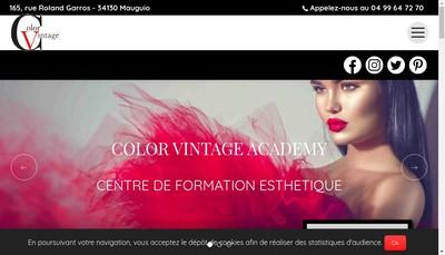 Site internet de Color Vintage