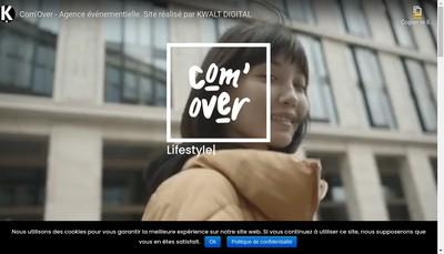 Site internet de Com'Over