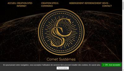 Site internet de Comet Systemes