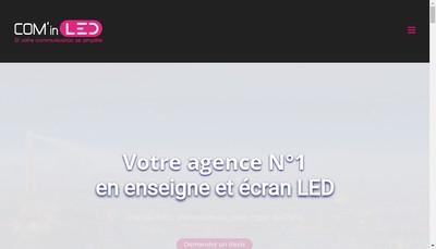 Site internet de Com In Led