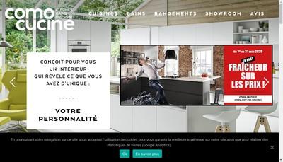 Site internet de Como Cucine