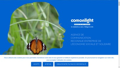 Site internet de Comonlight