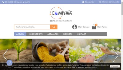 Site internet de Compalia