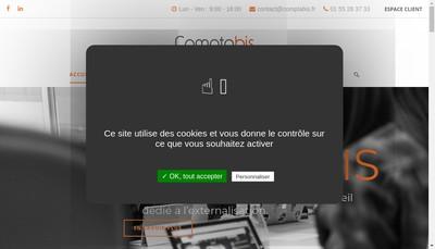 Site internet de Comptabis
