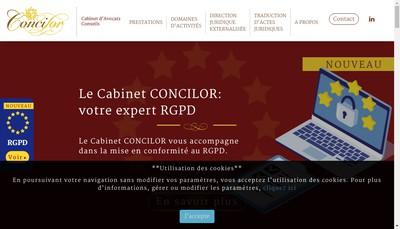 Site internet de Concilor