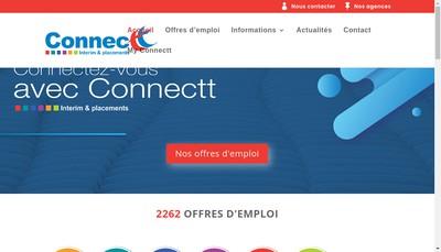 Site internet de Connectt 2