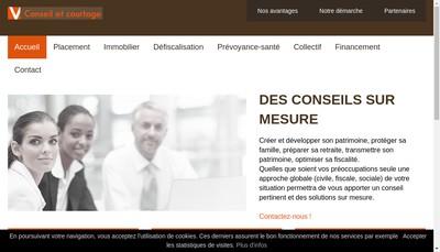 Site internet de Vilella-Guillaud Conseil et Courtage