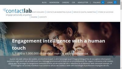 Site internet de Contactlab France