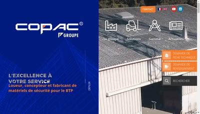 Site internet de Copac