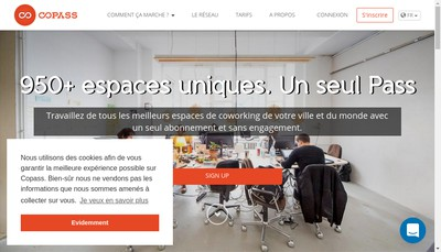 Site internet de Copass