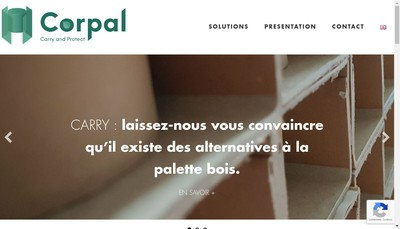 Site internet de Corpal