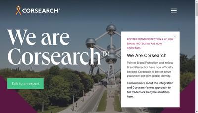 Site internet de Corsearch France